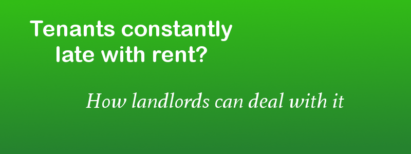 letter to tenant for late rent payment